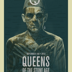 Brian Ewing - Queens of the Stone Age Poster