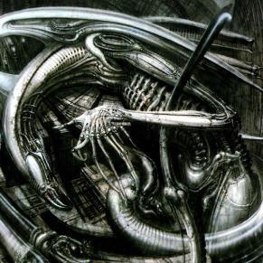 HR Giger - Alien Monster IV