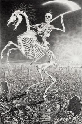 Laurie Lipton - Death Tarot