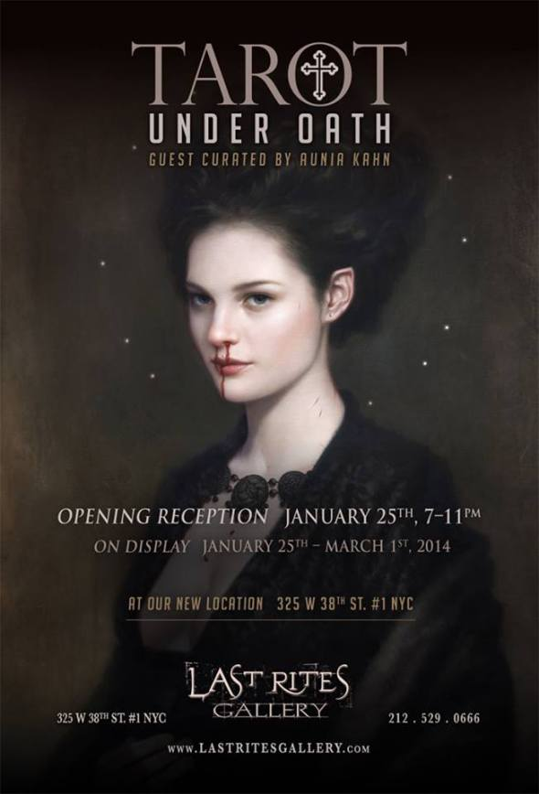 Tarot Under Oath @ Last Rites Gallery